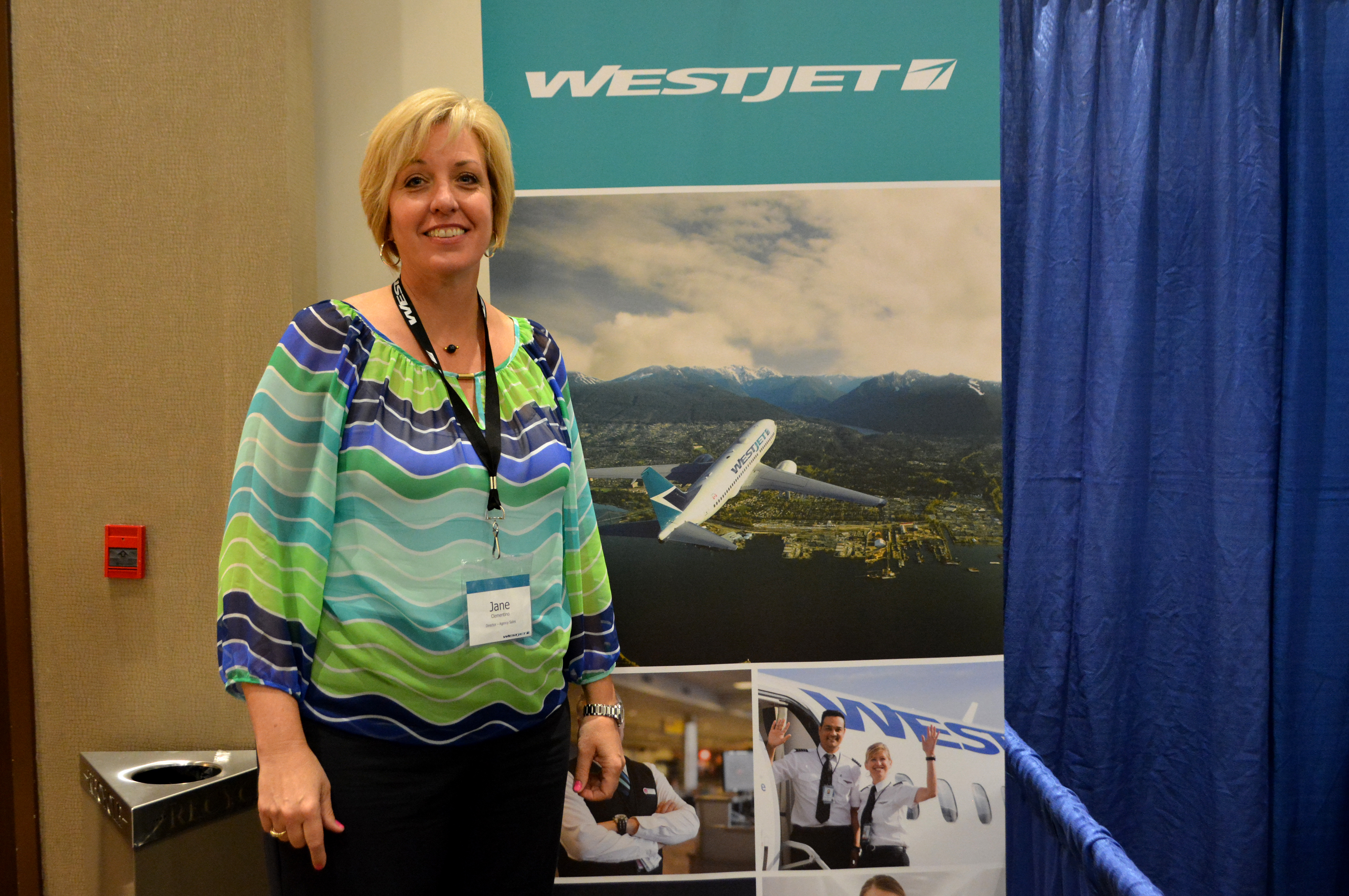 WestJet celebrates agents at trade expo