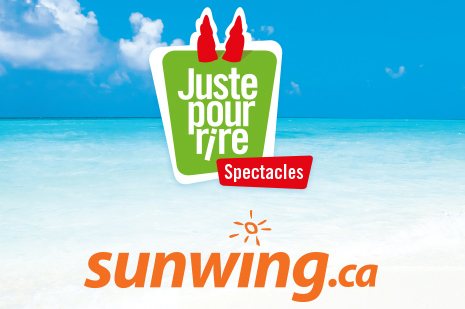 Sunwing & Just for Laughs go on tour