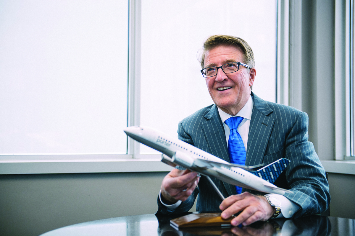 Porter looks to sell Billy Bishop airport terminal