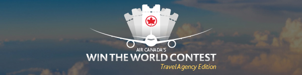 Agents can still Win The World with Air Canada