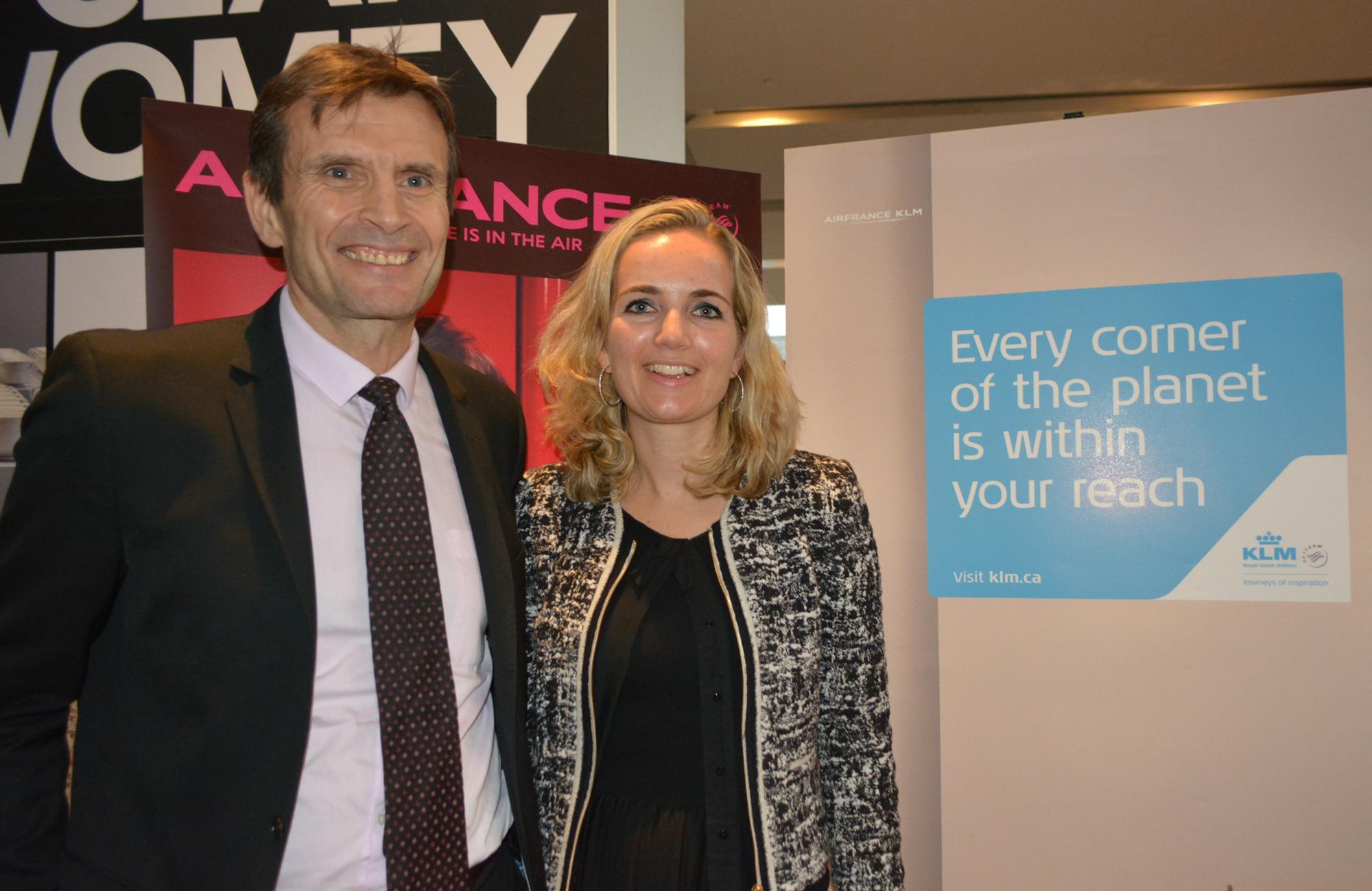 Air France, KLM celebrate milestones