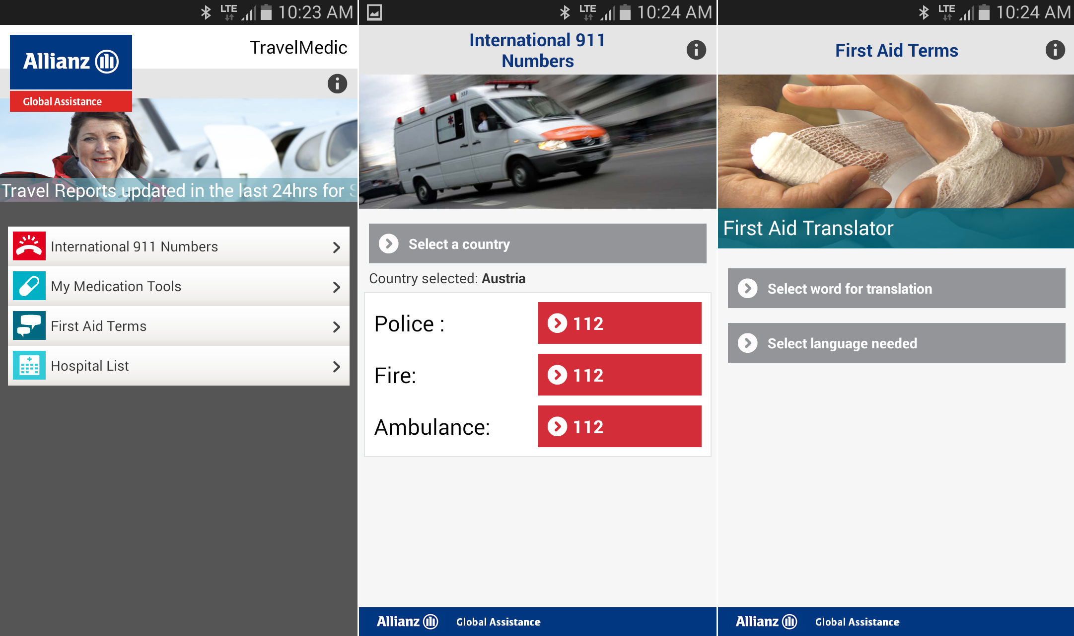 Allianz Global Assistance offers up TravelMedic mobile app