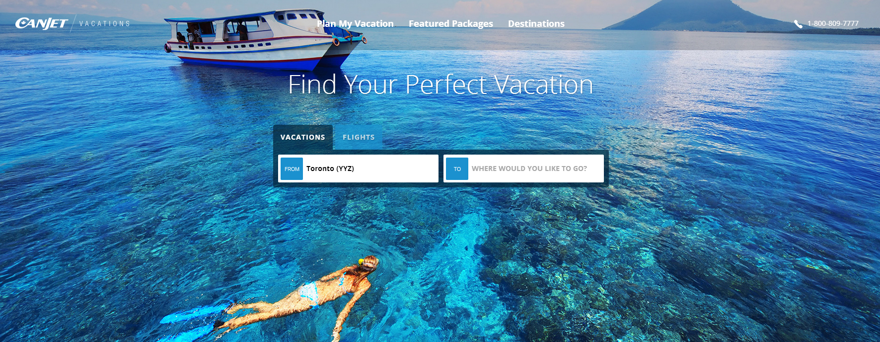 CanJet Vacations officially launches