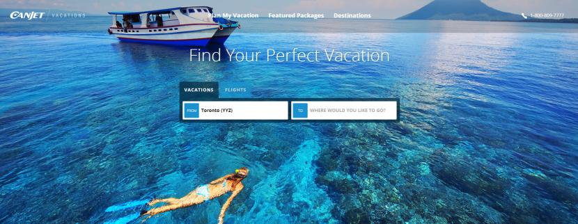 CanJet Vacations now available on Sabre