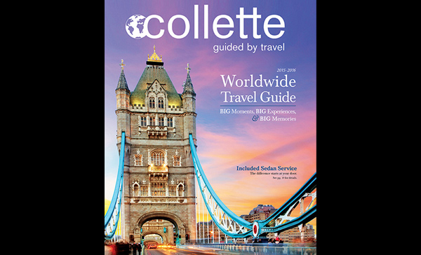Collette launches 2015-2016 travel brochure