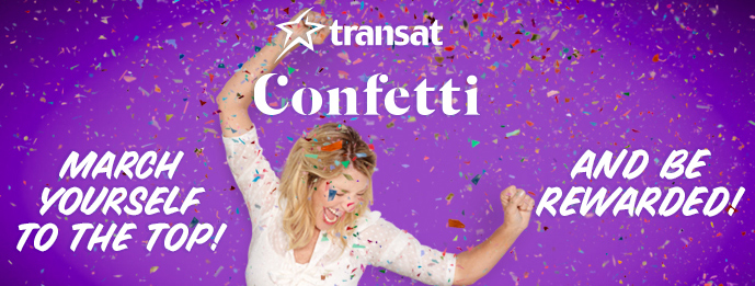 Transat announces March Confetti challenge
