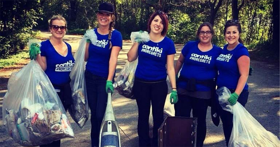 Contiki cleans up in Toronto