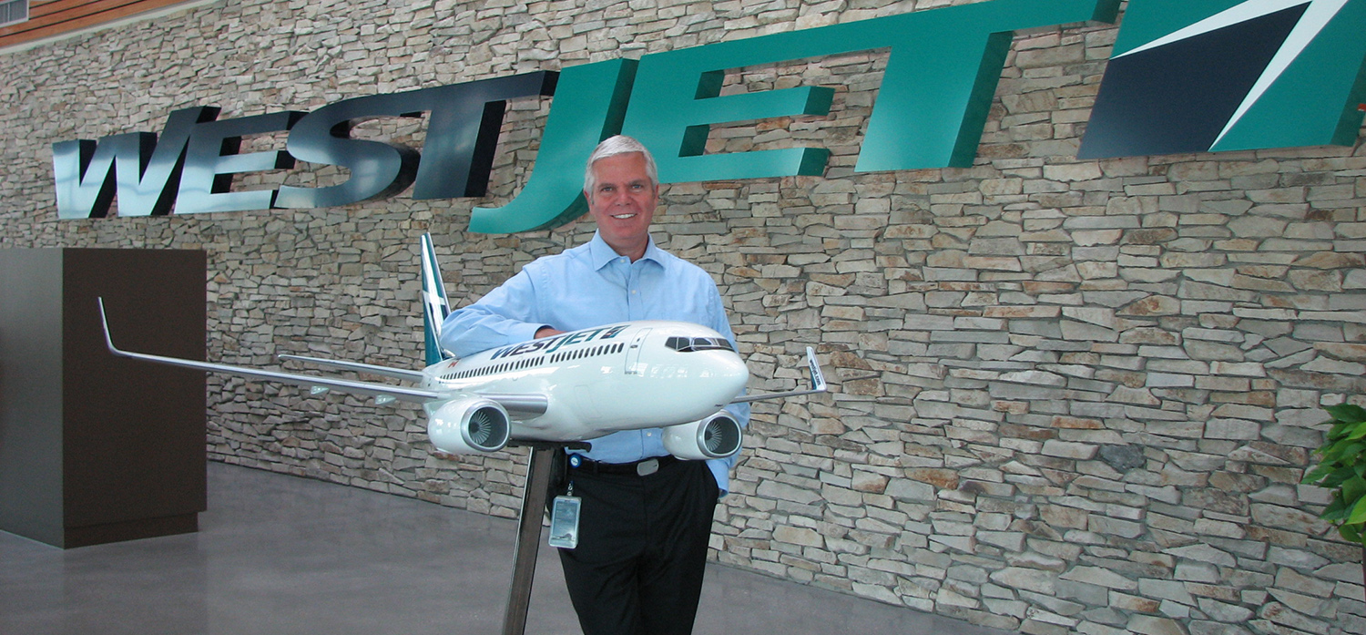 WestJet considering additional seating?