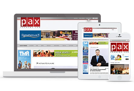 PAXnews.com, the new TRAVELHotNews.com