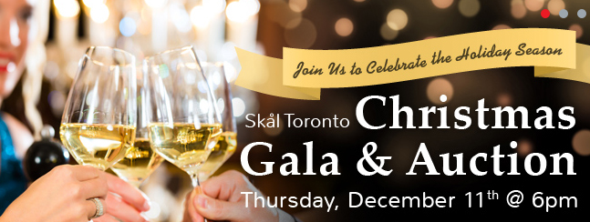 Skal Toronto hosts Holiday Gala, Dec. 11