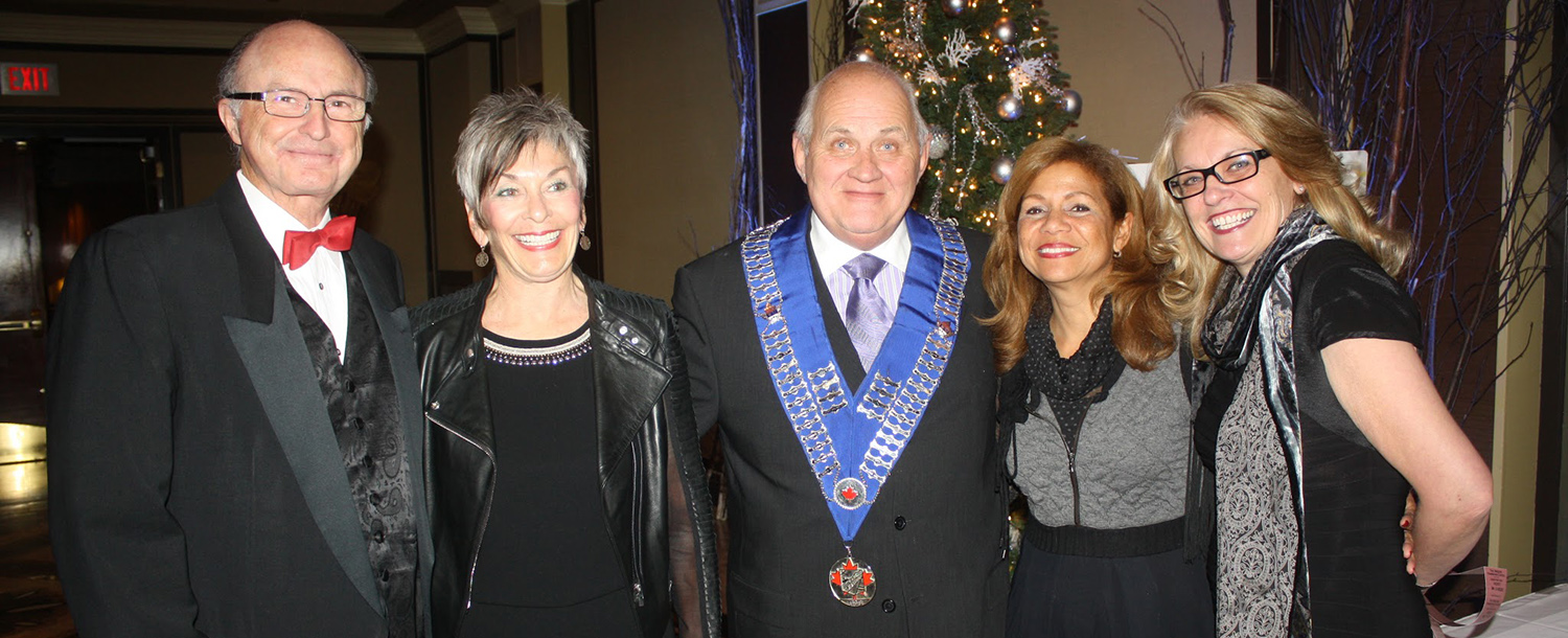 Toronto Skal Club celebrates the season