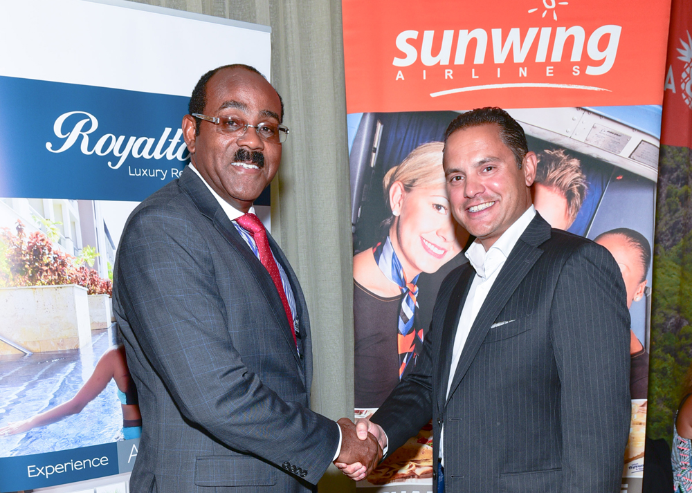 Sunwing, Antigua & Barbuda to develop $400M Royalton resort