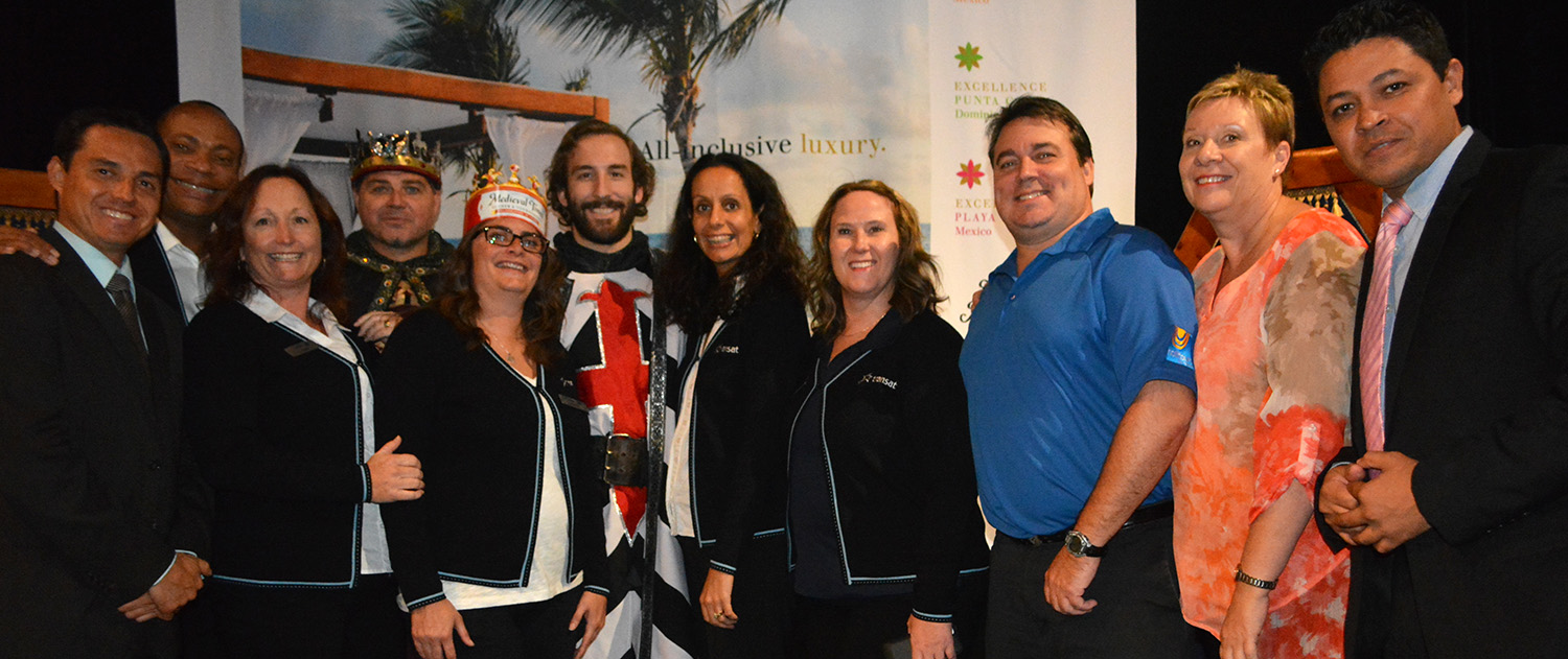 Transat Holidays & Excellence Group host agent event
