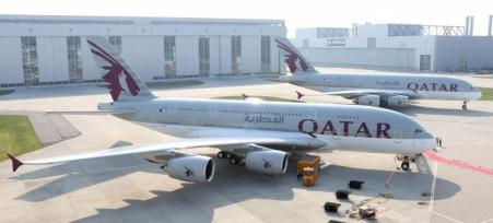 Qatar Airways unveils new A380