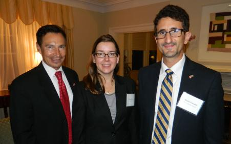 U.S. Consul General welcomes guests to Toronto residence