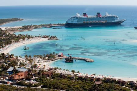Castaway Cay, Disney's private island in the Bahamas