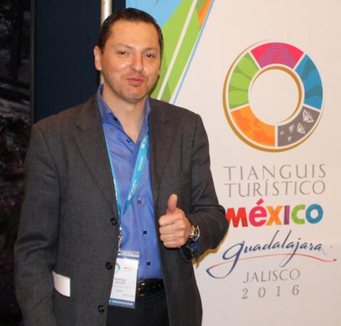 Rodrigo Esponda C., regional director for North America, Mexico Tourism Board
