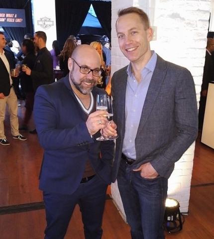 Armando Mendonça, owner, AMPM; Darrell Schuurman, managing partner, DNA Marketing