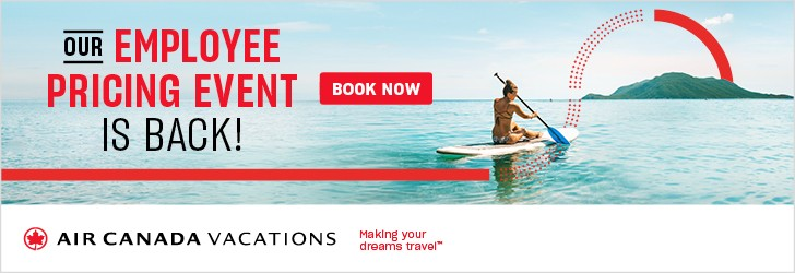 Air Canada Vacations - Footer Leaderboard - Newsletter - Jan 7