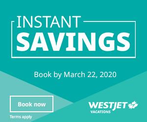 WestJet -Big Box  (Newsletter) - March 9 2020