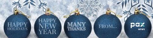 Pax Holiday Banner - Banner (Newsletter) - Dec 21 to Jan 3 2020