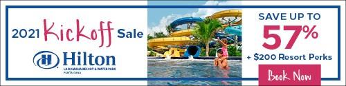 Playa Resorts - Standard banner (newsletter) Jan 4-10 2021 Hilton