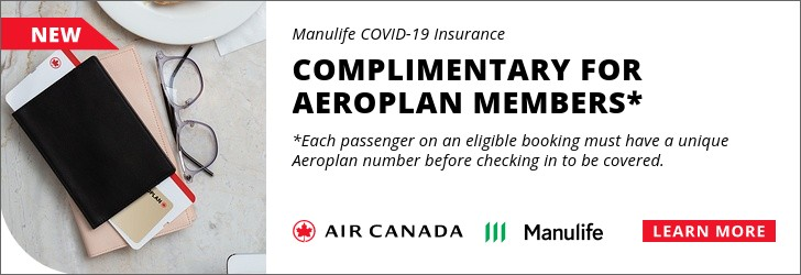 Air Canada - Footer Leaderboard - Newsletter - Jan 7-18 2021 COVID19 INSURANCE