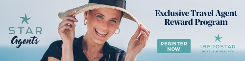 Iberostar - Standard Banner (Newsletter) - Dec 15 2020 Exclusive Travel Agent Reward Program