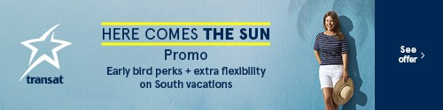 Transat - standard banner (newsletter) - Apr 8-14 2021 - Here comes the sun