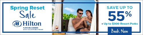 Playa Resorts - Standard banner (newsletter) - May 29 to June 11 2021 HPDC