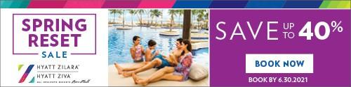 Playa Resorts - Standard banner (newsletter) - June 12-25 2021 Resorts by Hyatt