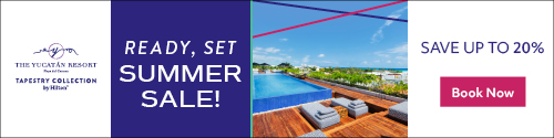 Playa Resorts - Standard banner (newsletter) - June 28 to July 4 2021 Yucatan Videotorial