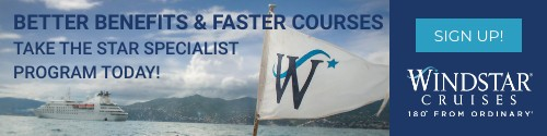 Windstar - Standard banner (newsletter) July 8-Aug 8 2021 Star Specialist Program