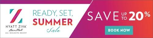 Playa Resorts - Standard banner (newsletter) - July 19-25 2021 ReadySetSummer HZ