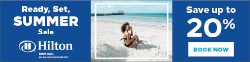 Playa Resorts - Standard banner (newsletter) - Aug 30 to Sep 5 2021 Summer Sale Hilton