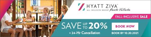 Playa Resorts - Standard banner (newsletter) - Sept 6-19 2021 Hyatt Ziva Fall inclusive sale