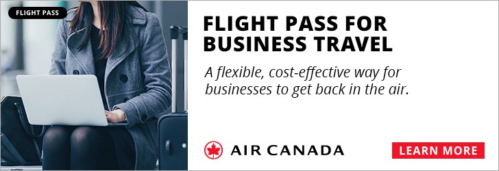 Air Canada - Footer Leaderboard - Newsletter - Sep 20 to Oct 3 2021 BackToBusiness