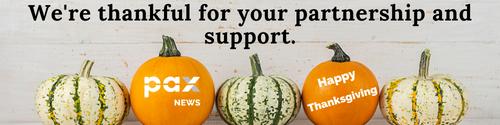 More news - Banner (Newsletter) - Oct 8-11 2021 Thanksgiving