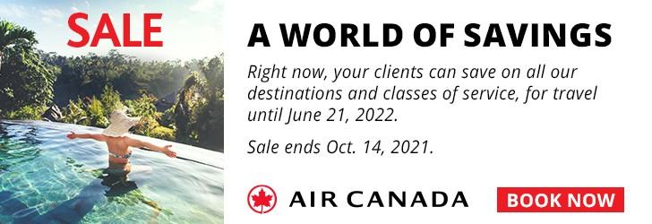Air Canada - Footer Leaderboard - Newsletter - Oct 7-14 2021 October WWSS