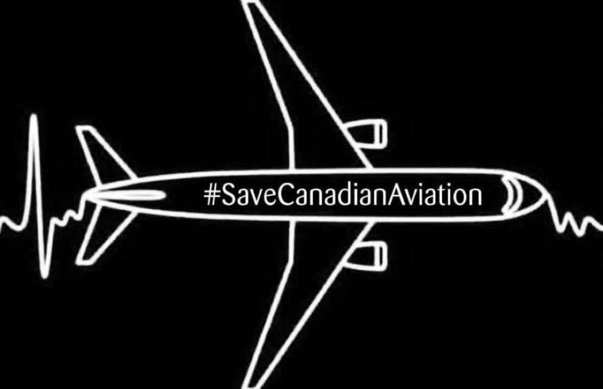 Aviation workers will march on Parliament Hill in Ottawa this Tues., Oct. 20 at Noon. (Aviation workers made redundant in Canada by the COVID-19 crisis)