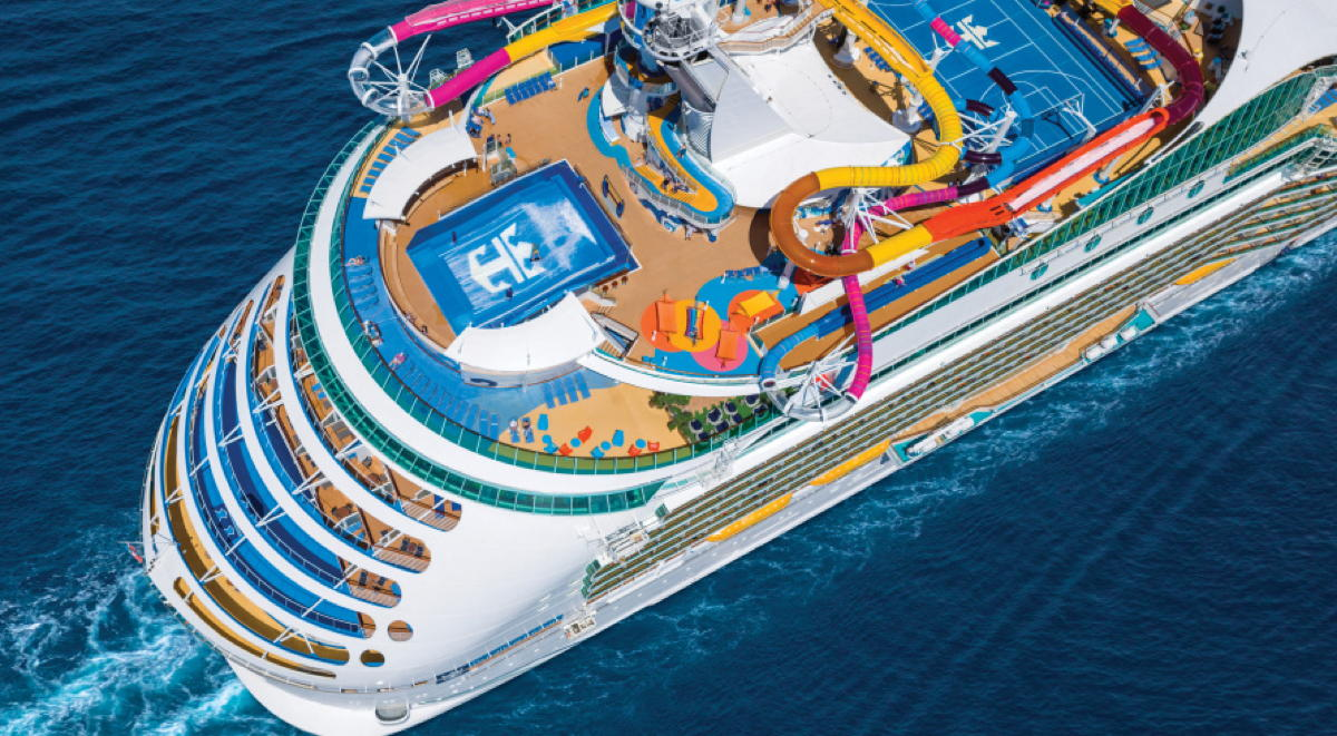 Navigator of the Seas will sail three, four & five-night itineraries to Catalina Island, California & Ensenada & Cabo San Lucas, Mexico. (Supplied)