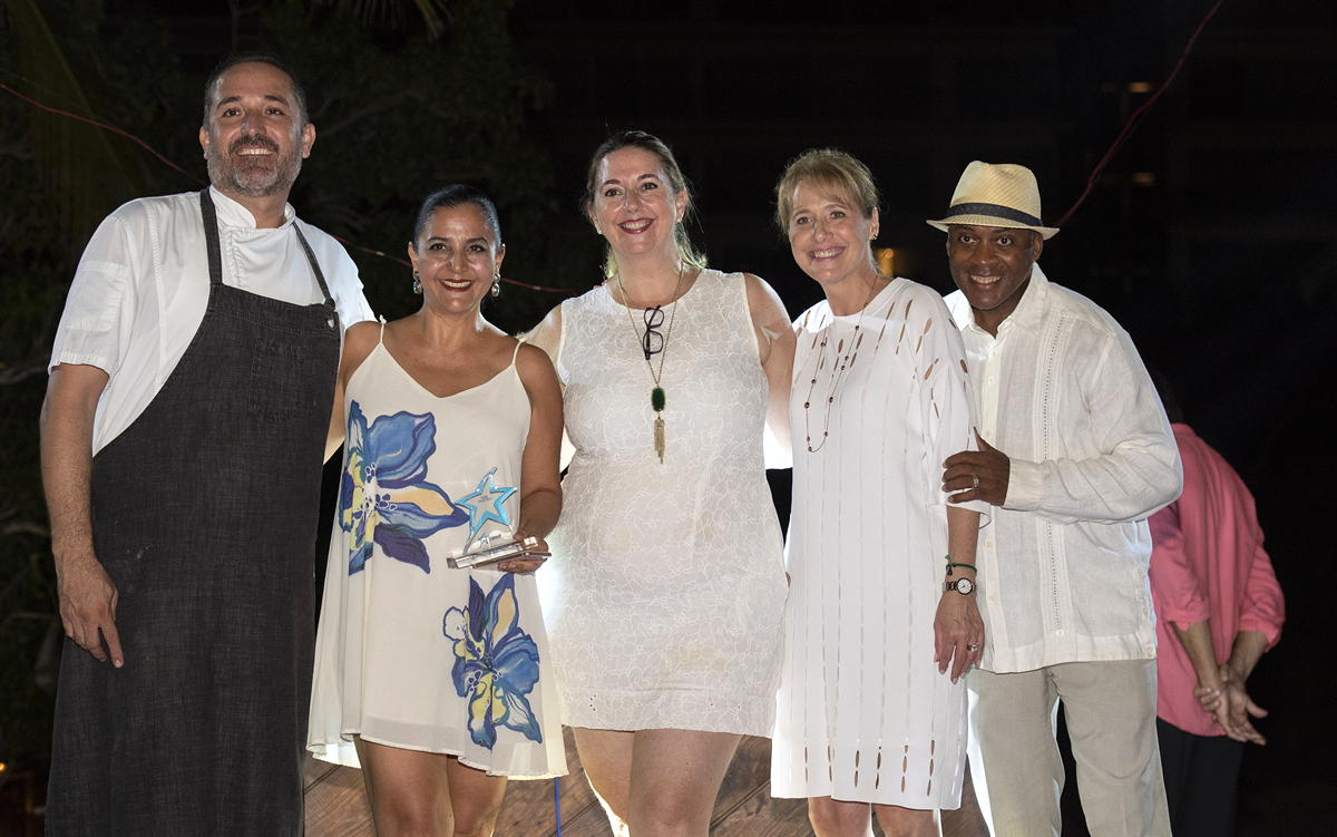 The farewell dinner was held at the four diamond Marival Distinct Luxury Residence beach. (Supplied)