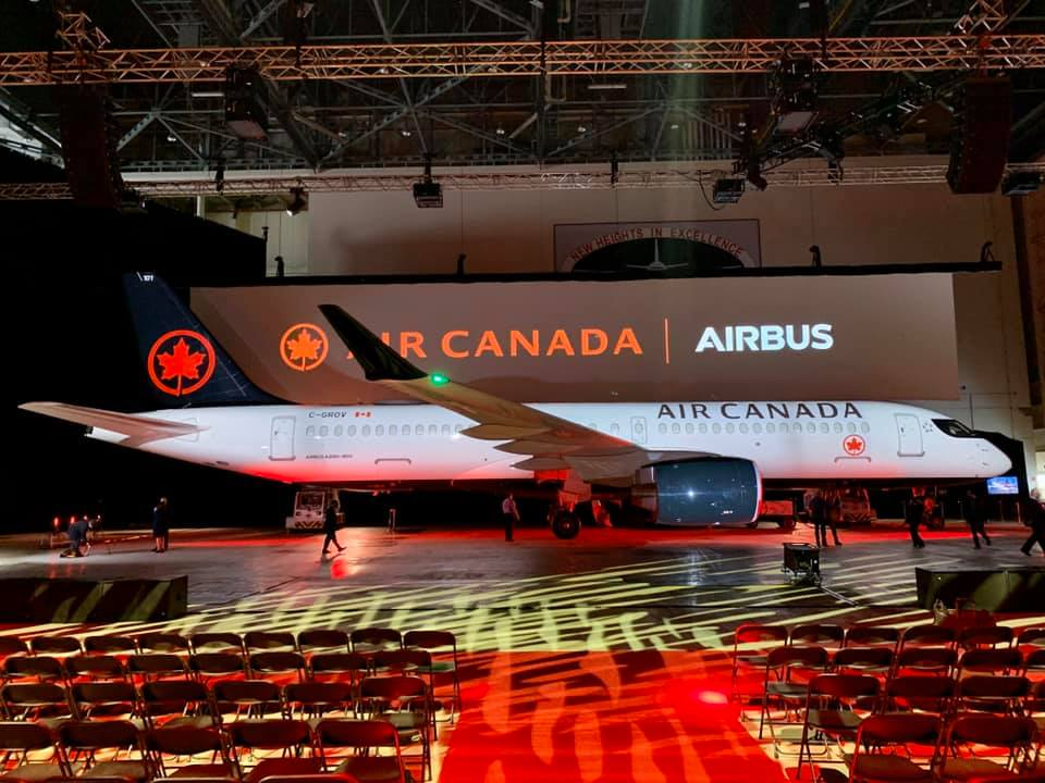 In just a few weeks, Canadians will be able to fly on board this Canadian-designed and assembled aircraft.