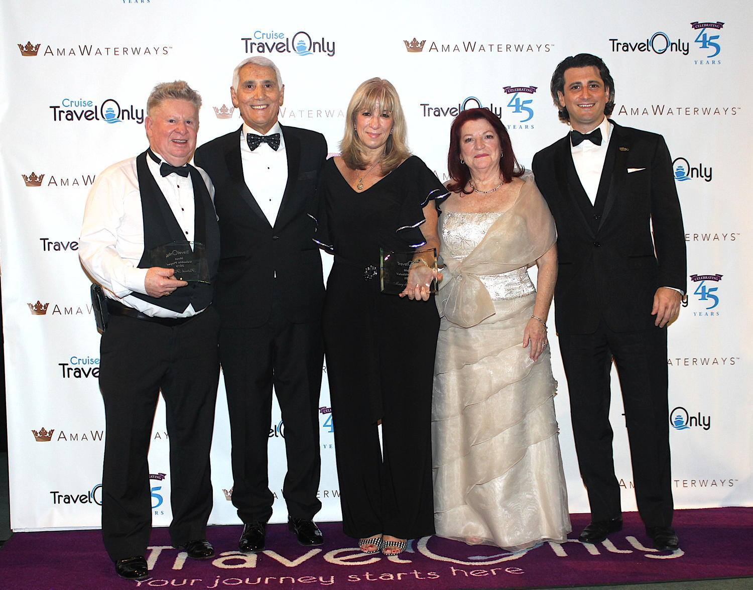 Pat Probert, Patrick Luciani, Mary de Almeida, Ann and Gregory Luciani, photographed together in January 2020. (Pax Global Media)