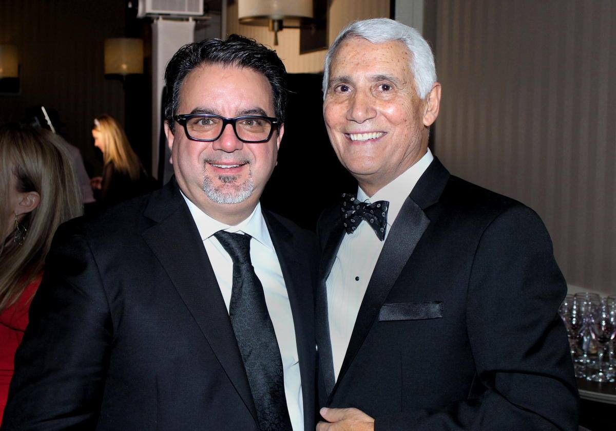 From left: Frank DeMarinis and Patrick Luciani photographed in January 2020. (Pax Global Media)