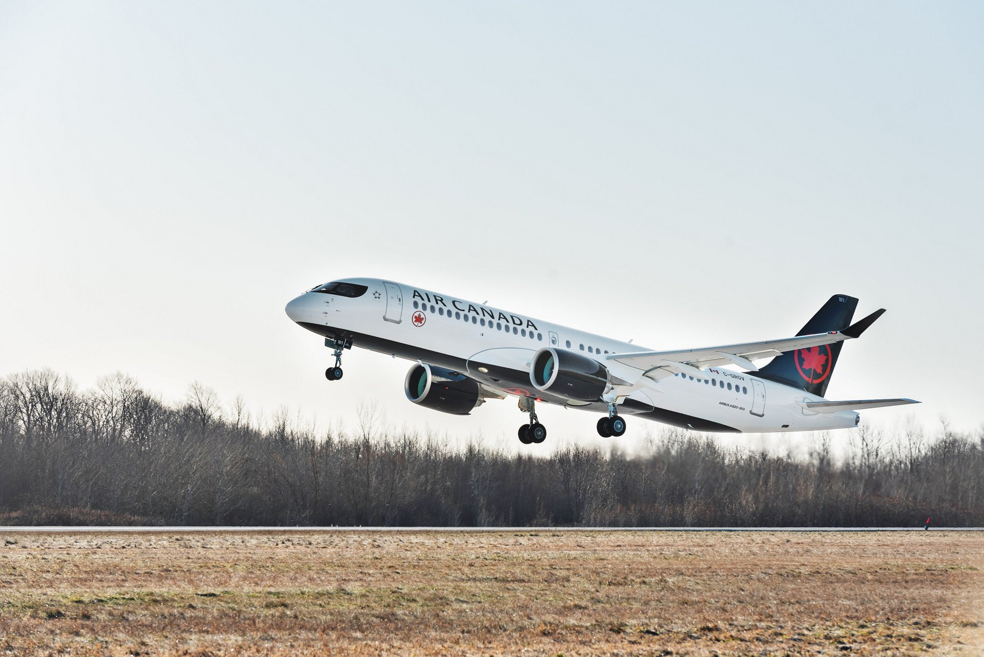 The first aircraft out of an order of 45 will enter service in January 2020, making Air Canada the first airline to operate the A220-300 in North America.