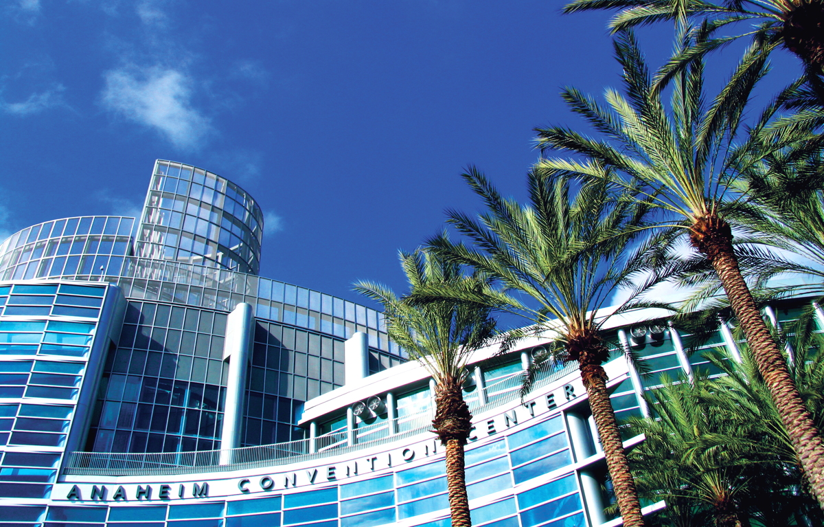 WELCOMING THE WORLD. Anaheim Convention Center will welcome more than 6,000 delegates at IPW.