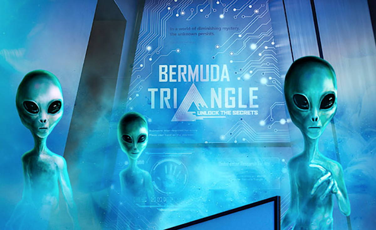 THE TRUTH IS OUT THERE. BUEI's Ocean Discovery Centre has an exhibit devoted to unlocking the secrets of The Bermuda Triangle. Photo:  buei.bm