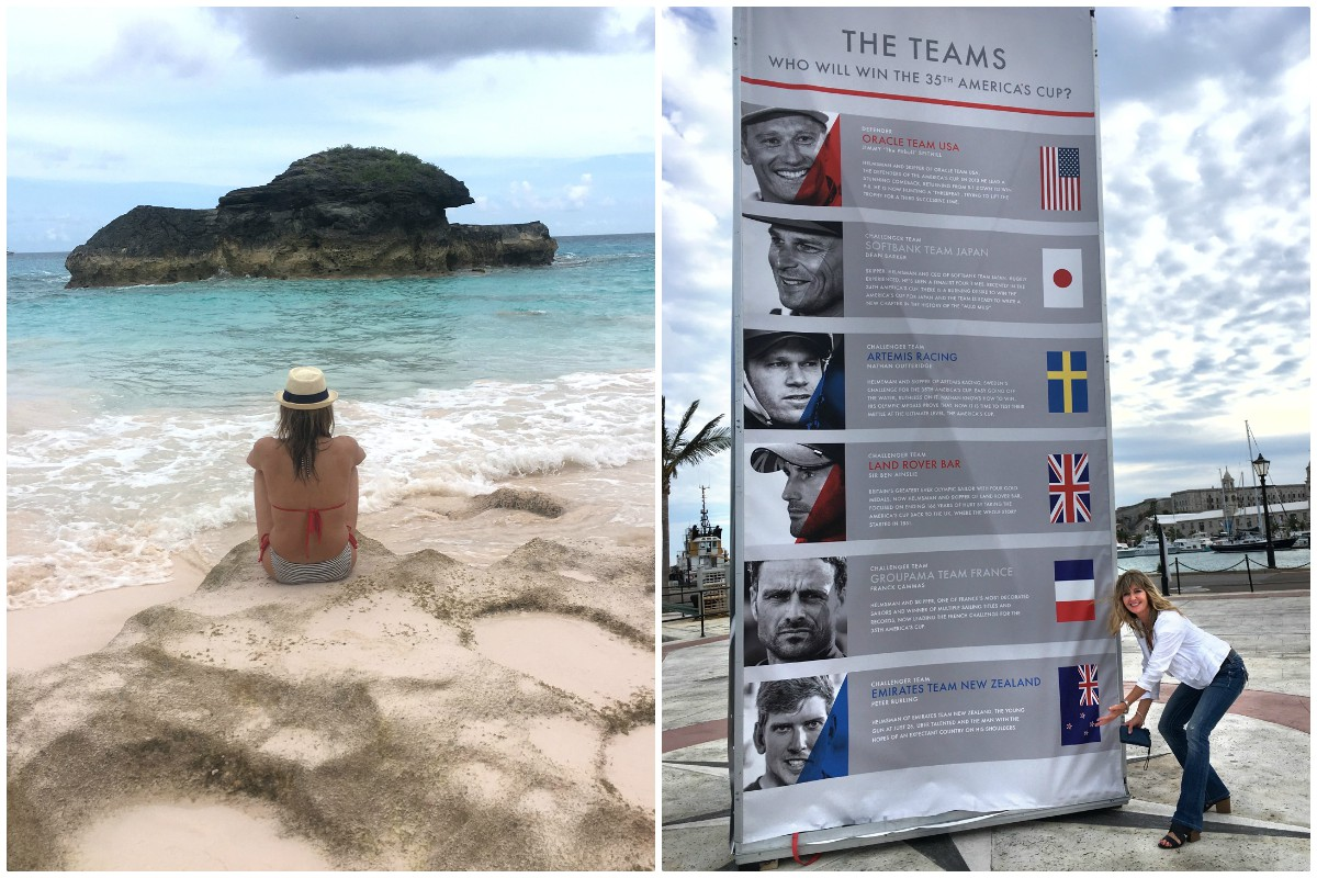 HAPPY PLACE. Yeomans has been visiting Bermuda since 1986. Photos courtesy of Brenda Lynne Yeomans.