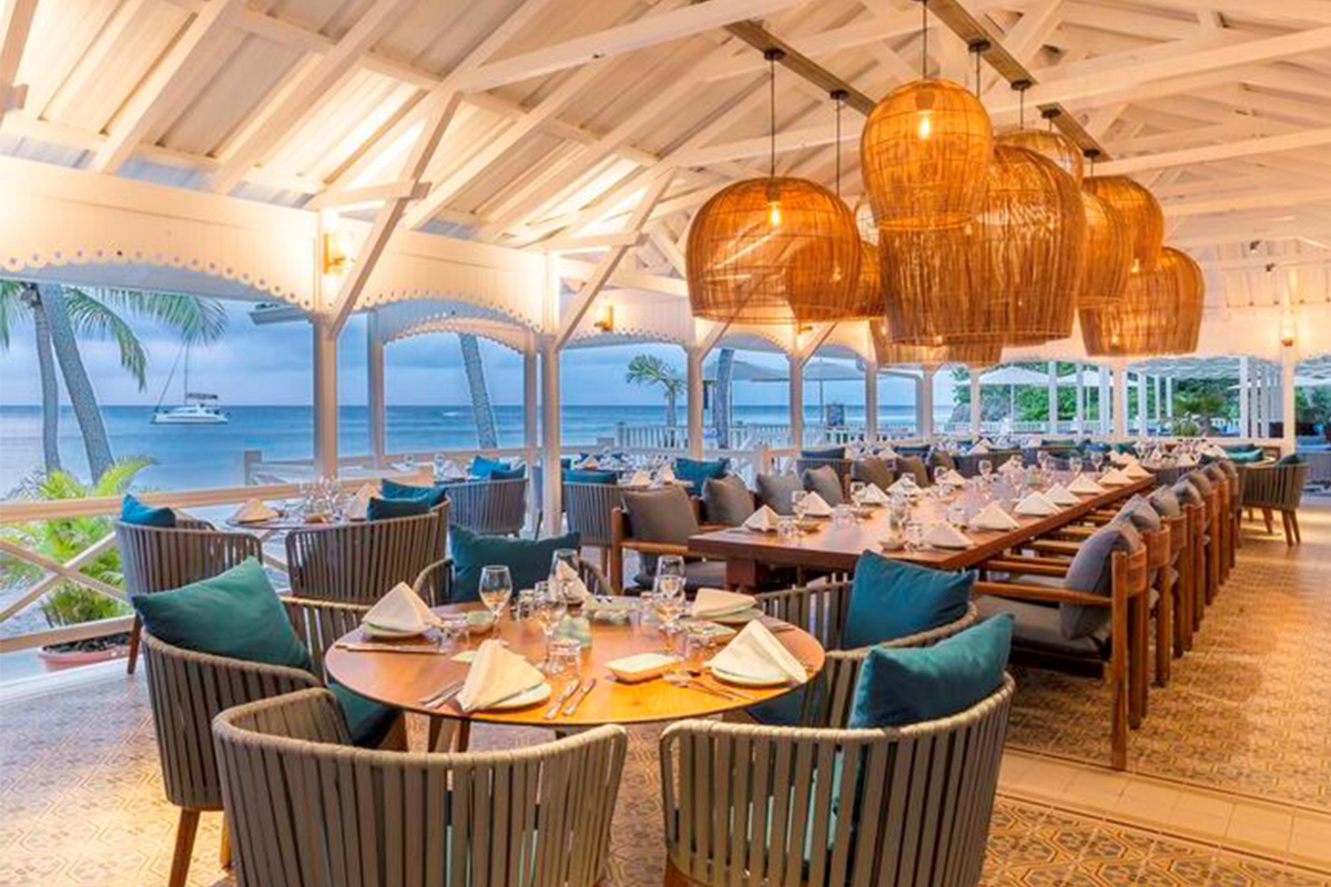 UPGRADES. New dining spaces at Club Med Caravelle in Guadeloupe. Photo: Club Med